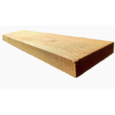 Доска обрезная лиственница 40х100х6000 мм